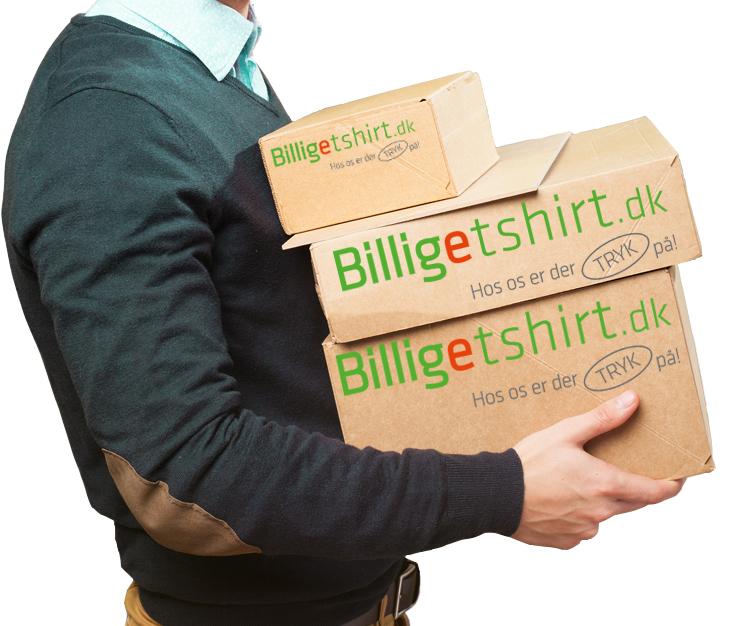 Bestem selv hvor logoet skal sidde på Jeres premium T-shirt. Det er nemt! Og vi hedder ikke billigetshirt for sjov. Vi har nok Danmarks bedste priser.