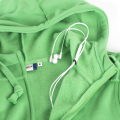 Basic Hoody Full Zip grøn 021034