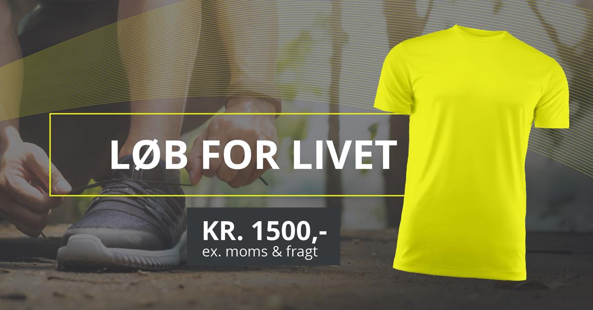 Løbe Tøj med logo